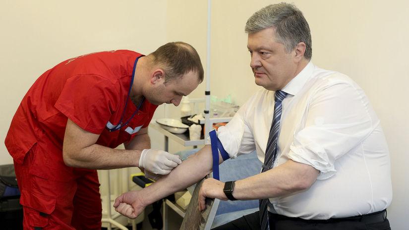 Petro Porošenko Ukrajina voľby prezidentské...