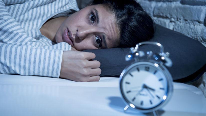 spánok, bdenie, nespavosť, spánková hygiena