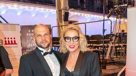Riaditeľka Slovenskej filmovej a televíznej akadémie Wanda Adamik Hrycová s manželom Marekom Adamikom.