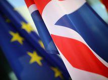 veľká británia, eú, európska únia, zástava, vlajka, brexit