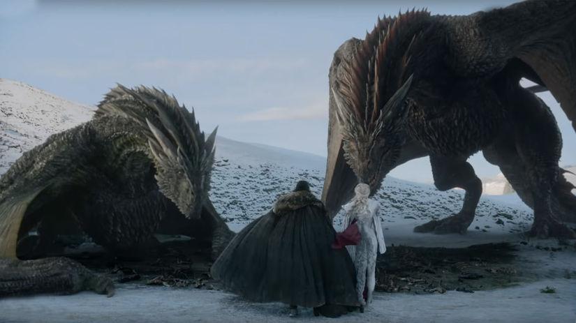 hra o tróny, game of thrones, daenerys, jon,...