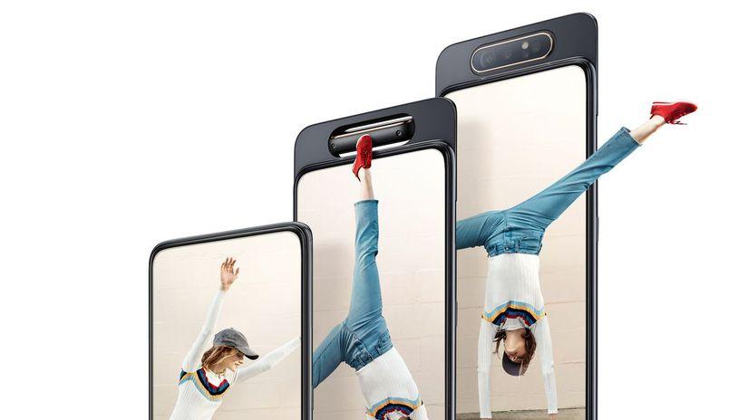 Samsung, Galaxy A80, smartfón