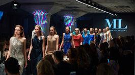 Defilé prehliadky Michaely Ľuptákovej v rámci akcie Eurovea Fashion Forward.