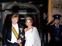 Holandský kráľ Willem-Alexander a kráľovná Maxima