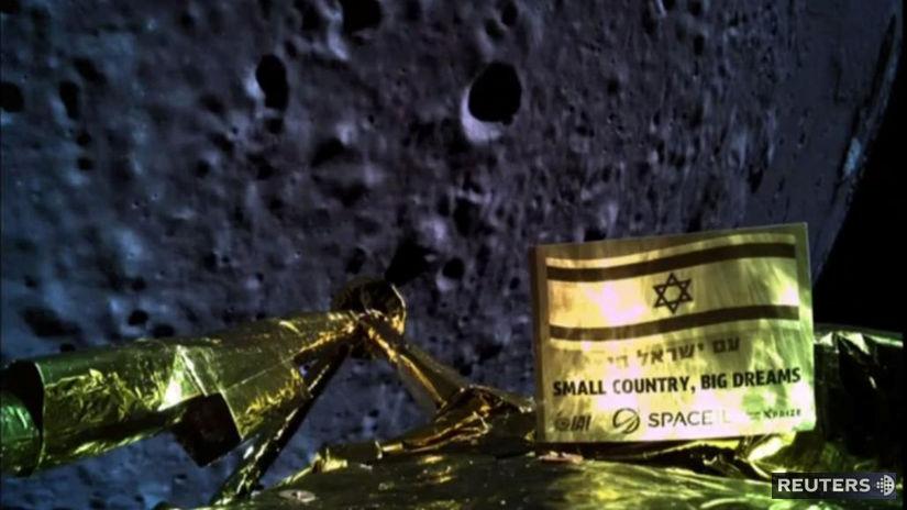 Izrael, sonda, mesiac, Berešit
