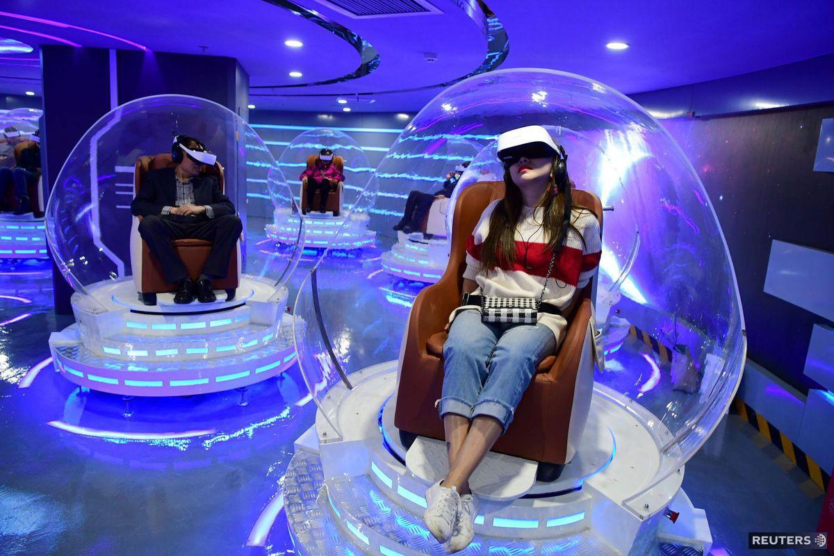 Čína, virtuálna realita