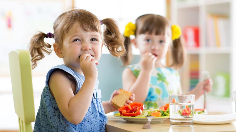 škôlkar, jedlo, deti, zdravé stravovanie, škôlka