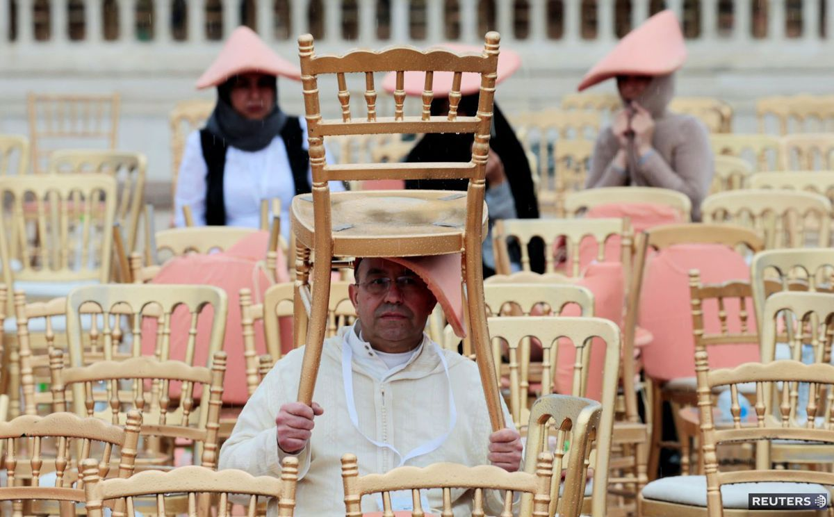 stoličky, Maroko