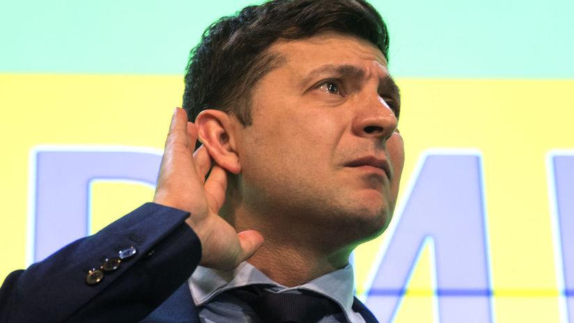 Ukrajina voľby prezident 1. kolo výsledky odhady
