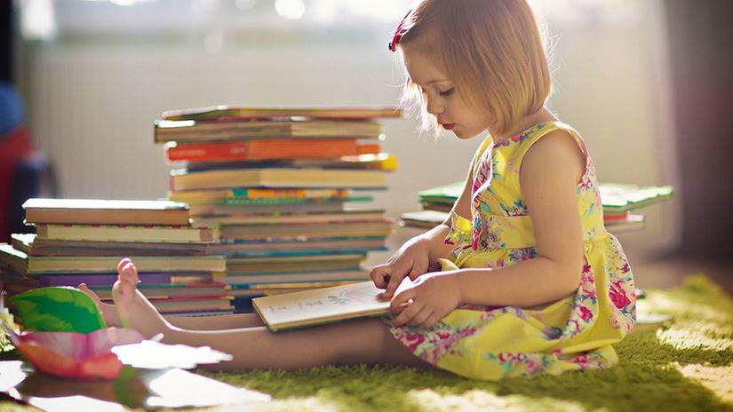 kniha, dieťa, čítanie