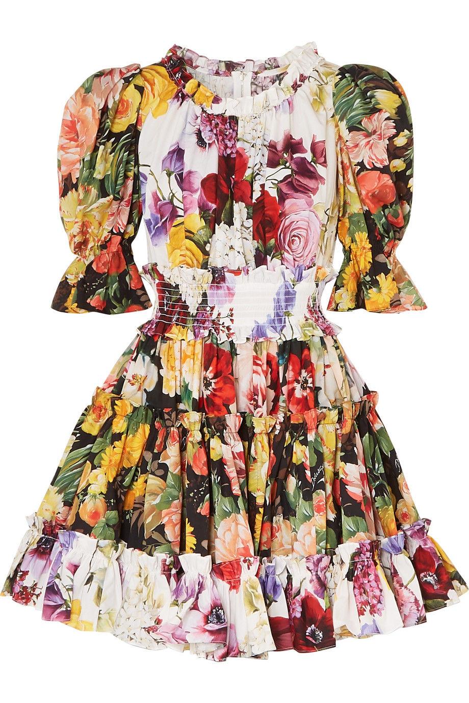 d102034c21d7 Šaty  Dámske šaty s florálnou potlačou nie sú až taký výnimočný kus