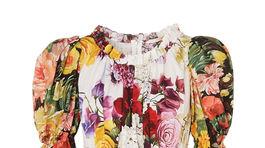 Dámske šaty s kvetinovou potlačou značky Dolce & Gabbana. Info o cene v predaji.