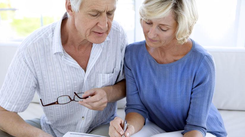 dôchodci, zmluva