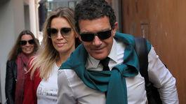 Antonio Banderas a jeho priateľka Nicole Kimpel