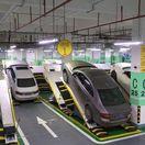 Chongqing - parkovací dom v Číne