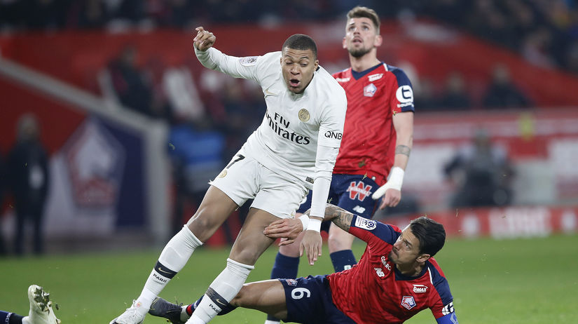 France Soccer League One Mbappé