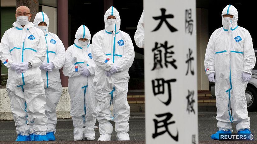 Japonsko - Fukušuma - jadrová elektráreň