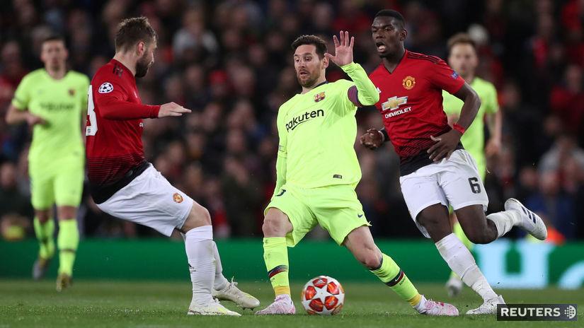 Luke Shaw, Paul Pogba, Lionel Messi
