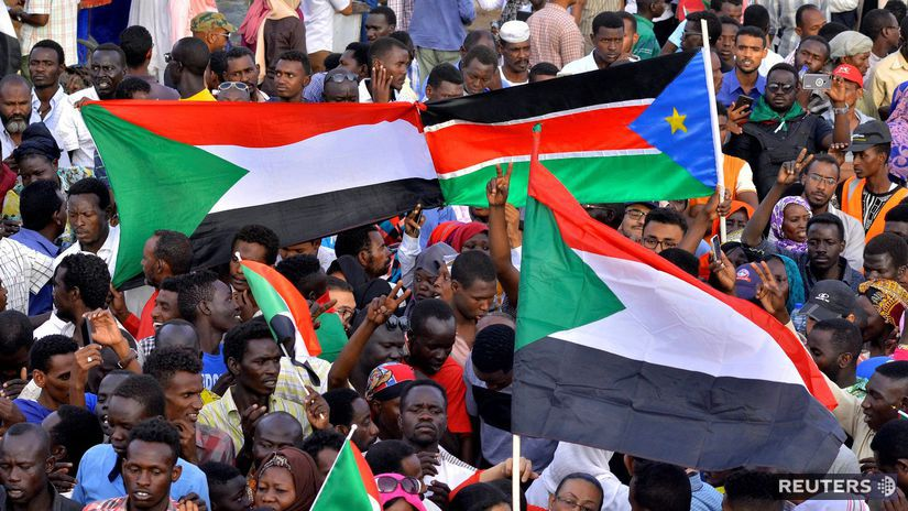 Sudán, politika, demonštrácia