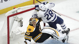 USA Hokej NHL Play Off Maple Leafs Bruins