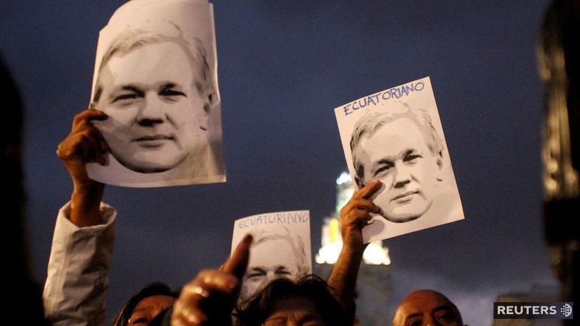 Ekvádor - Julian Assange - kybernetické útoky