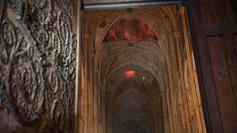 Francúzsko Paríž katedrála Notre Dame požiar klenba