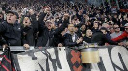 Italy Soccer Champions League Ajax fans