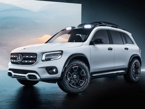 Mercedes-Benz GLB Concept - 2019