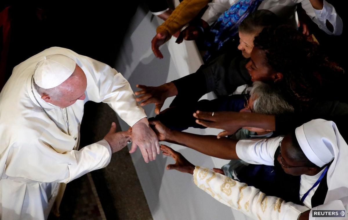 pápež František, Maroko, veriaci