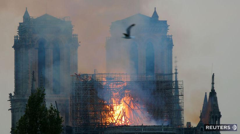 Požiar katedrály Notre-Dame