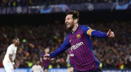 Spain Soccer Champions League Messi