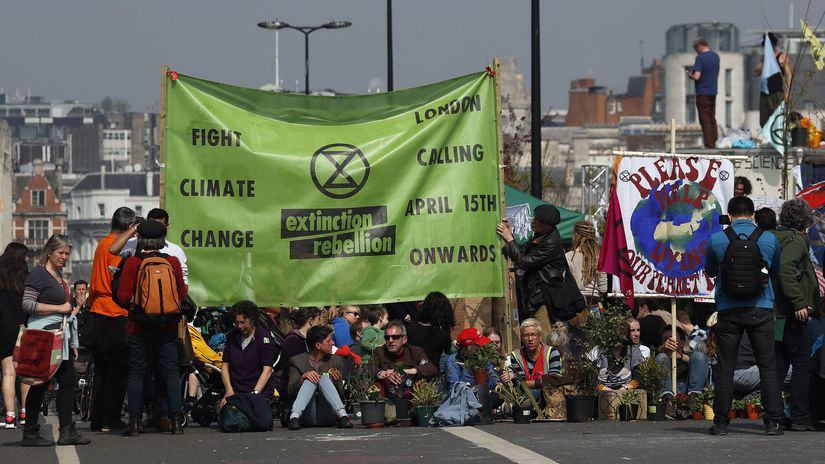 Britain Climate Protest
