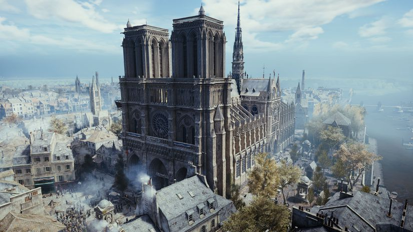 Notre-Dame, Assassin's Creed,