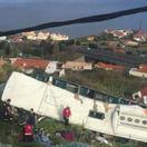 Portugalsko Madeira nehoda autobus