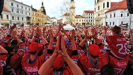 Banská Bystrica, oslava, hokej