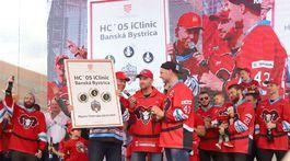 Hokej, Banská Bystrica, oslavy