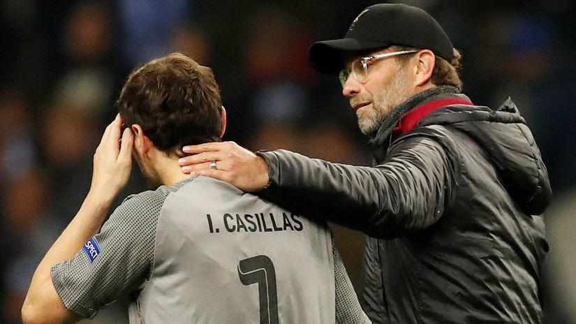 Jürgen Klopp, Iker Casillas