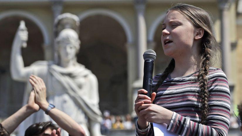 Taliansko Rím životné prostredie klíma protesty...