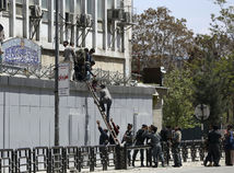 Afganistan Kábul útok ministerstvo výbuch streľba