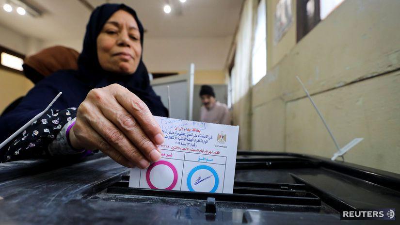 Egypt / Referendum / Abdal Fattáh Sísí