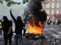Francúzsko / Paríž / hnutie žltých viest /