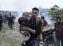 Grécko / Solún / migranti / polícia / nepokoje / protest
