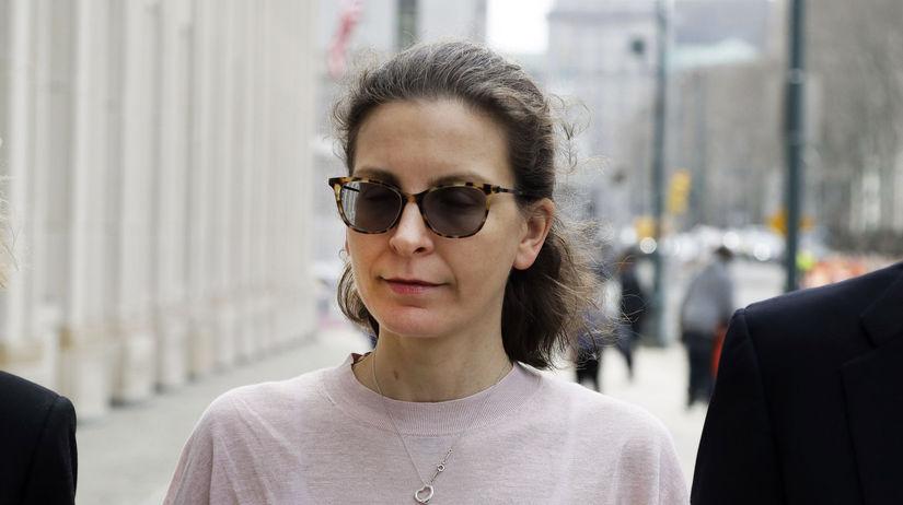 Clare Bronfman, členka organizácia NXIVM a...