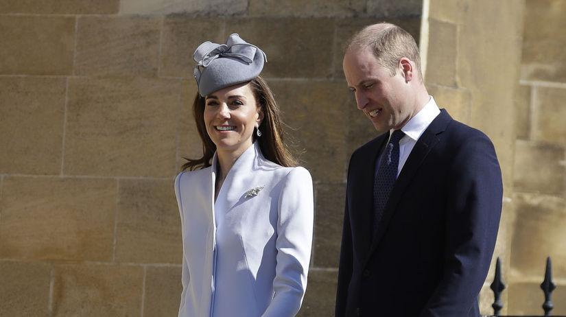 Princ William a jeho manželka Kate, vojvodkyňa...