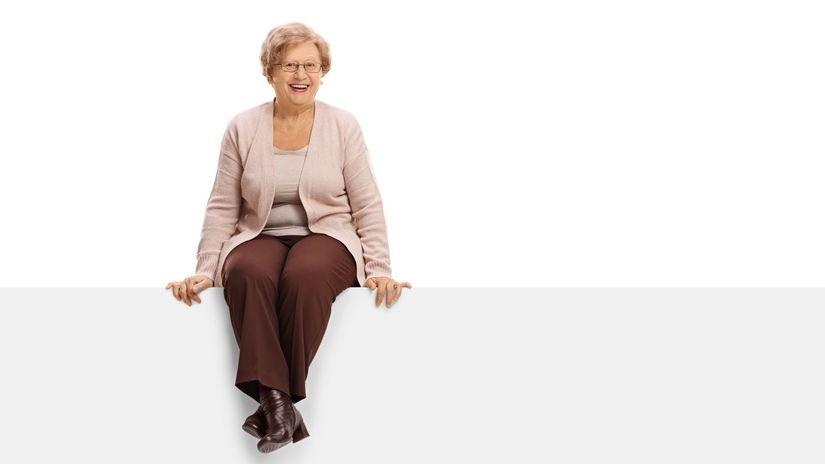 senior, dôchodca, penzista