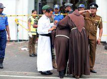 Srí Lanka / bombový útok /
