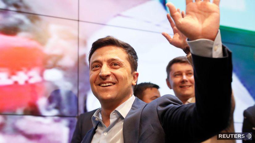 Ukrajinské prezidentské voľby / Ukrajina /...
