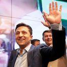 Ukrajinské prezidentské voľby / Ukrajina / Porošenko / Zelenskyj