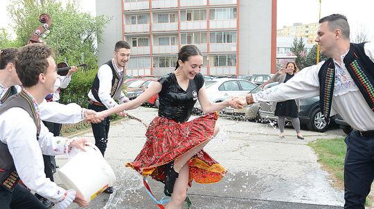 Oblievačka v Košiciach.