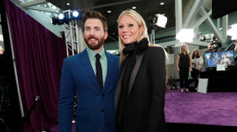 Herci Chris Evans a Gwyneth Paltrow spoločne.